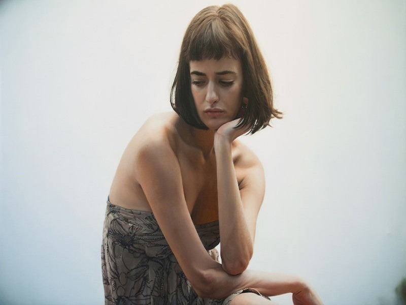 Painting, Art, Photorealistic, Skill, Yigal Ozeri, Women
