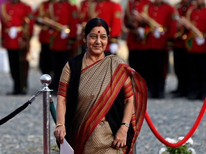 Foreign Policy Magazine, Sushma Swaraj, Global Thinkers, Twitter Diplomacy
