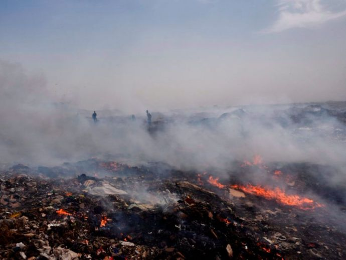 Nagpur Bhandewadi Dumping Ground, Bhandewadi, nagpur, fire, Dumping Ground fire, nagpur news, nagpur metro, NMC