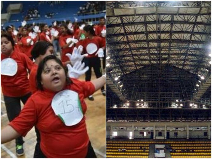 Nagpur, valentines day, 14th, february, celebration, kids, zumba, world record, specially, abled, dance, Udaan, sapno, ki, children, maximum, number, perform, 40, minutes, broke, record, 812, 10th edition, Mankapur, Indoor, stadium, Manish, Gohil, instruc