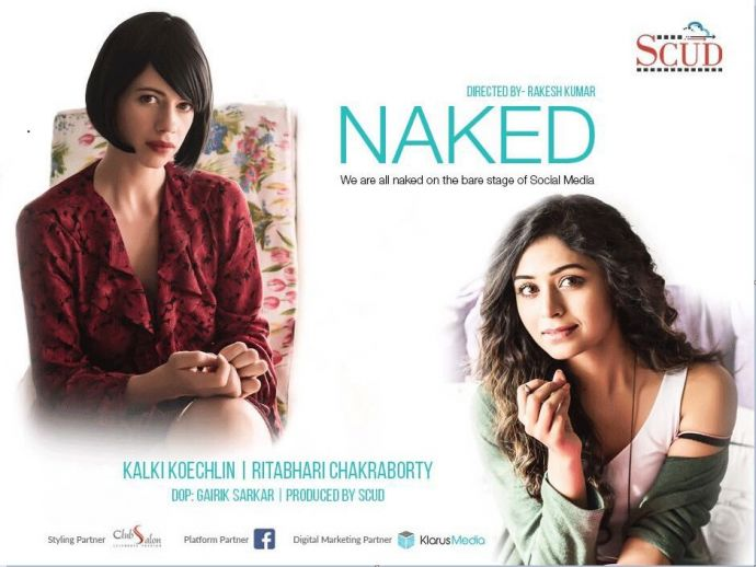 Kalki Koechlin, Ritabhari Chakraborty, Social Media, short film, naked, cyber bullying, facebook