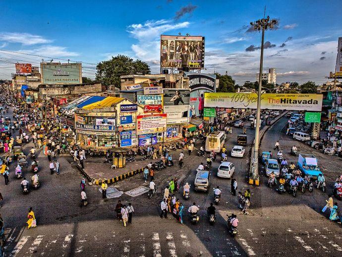 munje chowk, sitabuldi, nagpur, metro rail, traffic, diversions, Traffic Diversion Map By Nagpur Metro, Munje Chowk Nagpur