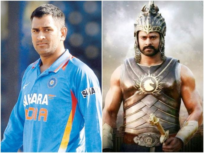 Baahubali trailer, MS Dhoni, Baahubali 2: The Conclusion, Mahendra Baahubali, cricket, sport, movie, tollywood, bollywood, 1000 crore