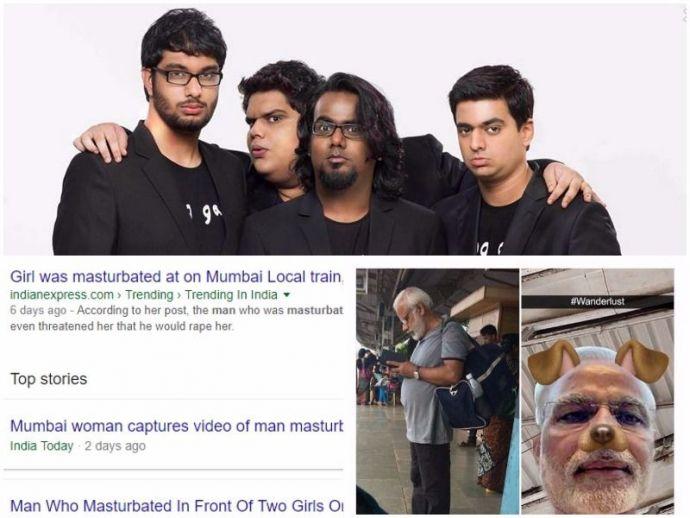 AIB, Mumbai, police, FIR, Modi, Meme, snapchat, mumbai, local, masturbate, sex, offender, moral, policing