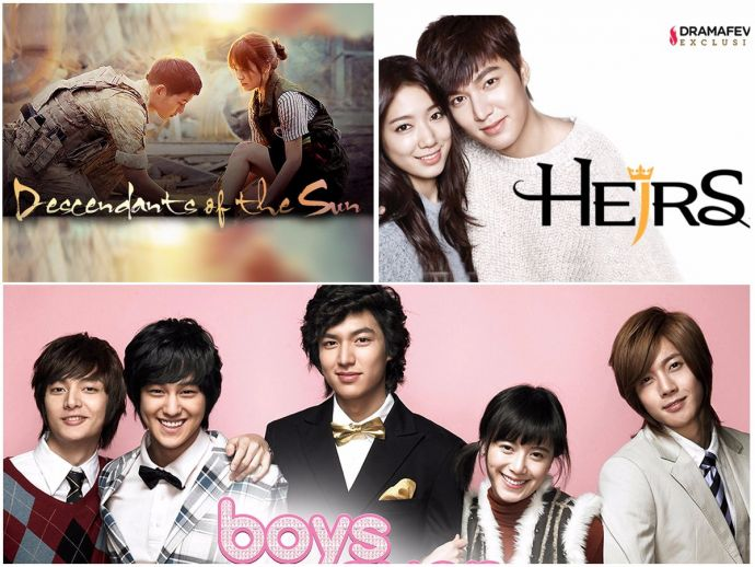 Korean Drama, K-Drama, Lee min-ho, Boys Over Flowers, My Girl, Descendants of the sun