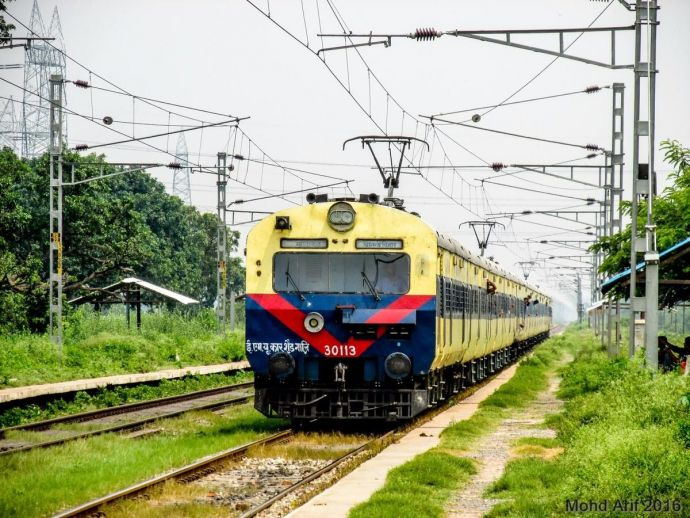 Nagpur, Railway, project, depot, MEMU, EMU, maintenance