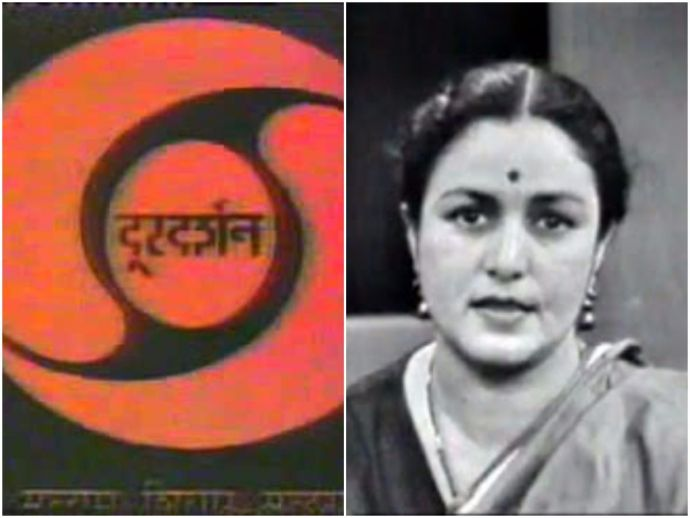 Pratima Puri, Doordarshan, First News Reader, Yuri Gagar, 58 years of Doordarshan, television, Indian Television