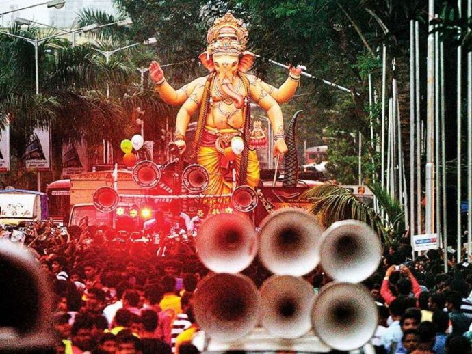 nagpur, nagpur news, Chandrapur, Guardian Minister Sudhir Mungantiwar, BJP, Ganesh Festival, ganpati, maharashtra, chandrapur district, Supreme Court directives, sound pollution, DJ, DJ play, sound DJ