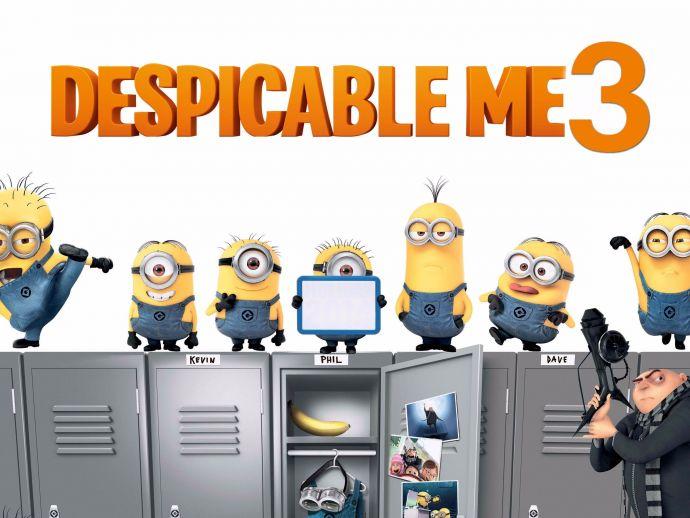 Despicable Me 3, Grucy, Minions, Balathazar, Trailer, Balthazar Bratt, Steve Carell, Gru, Lucy