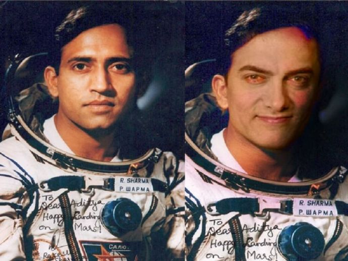 Aamir Khan, Saare Jahaan Se Achcha, Rakesh Sharma, astronaut, indira gandhi, prime minister, india, space