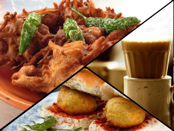 Durga Cafe, food, Kande Bhaje, Garden Vada Pav, Pav Bhaji, Coffee, Misal Pav, Bun Maska, corn pakora, bhaji, tiger point, pithla bhakar, Pune, monsoon