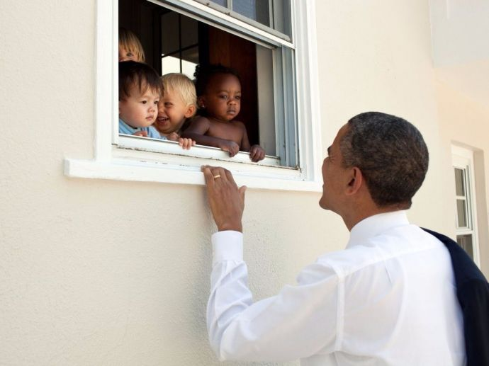 Barack Obama, Charlottesville, Virgina, US, America, Ellen Degeneres, Ariana Grande, President, Louis Tomlinson, Twitter, England, Manchester, Tweet, Nelson Mandela, South Africa