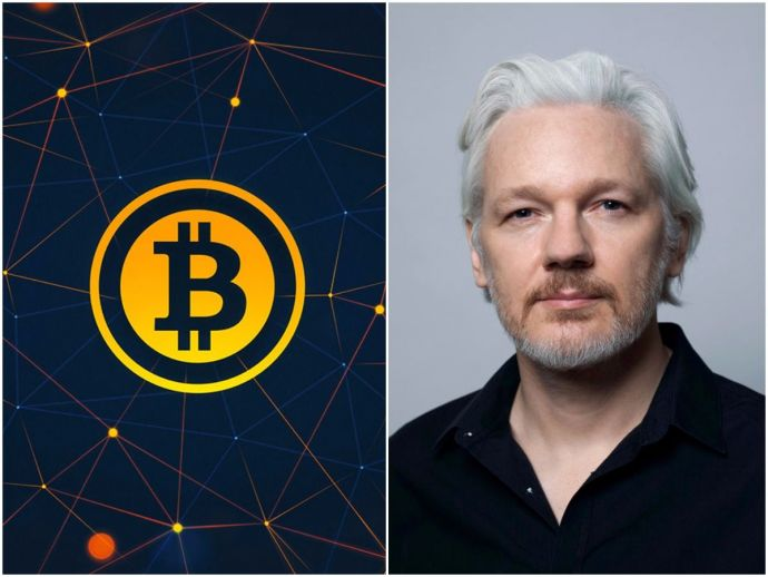 Julian Assange, Wikileaks, founder, exile, investment, bitcoin, value, currency