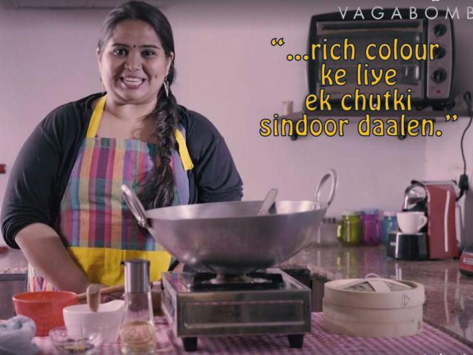 sumukhi suresh, feminist, vagabomb, comedy, recipe