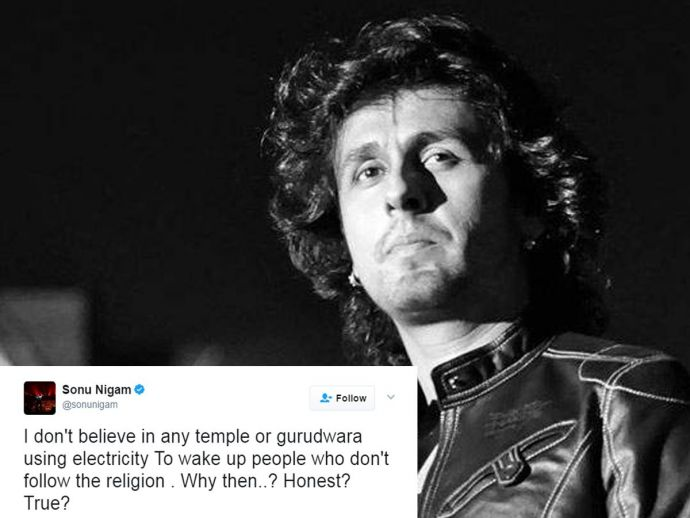 Sonu Nigam, azaan, tweet, reaction, sleep, disturbs, singer Abhijeet, Sonu Nigam's Tweet On Azaan, Twitter Reactions On Sonu Nigam, Sonu Nigam's Rant On Azaan