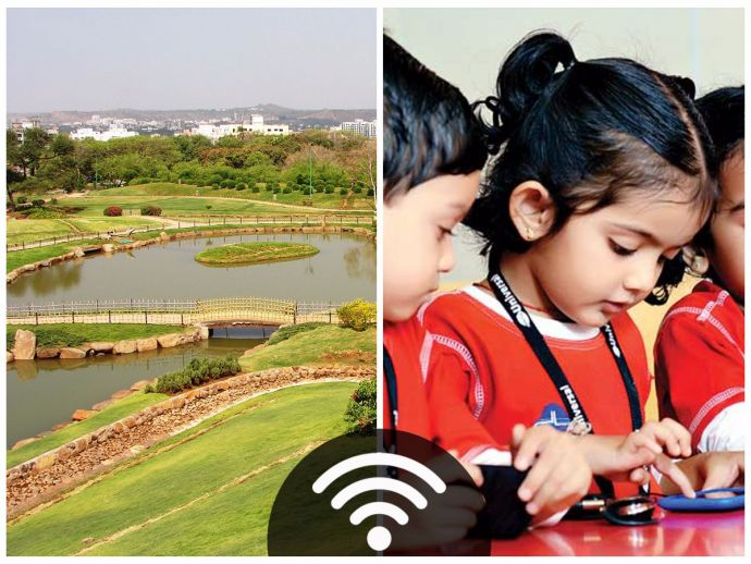 Pune, WiFi, WiFi Spots, Gardens, Schools, free, PMC, PSCDCL