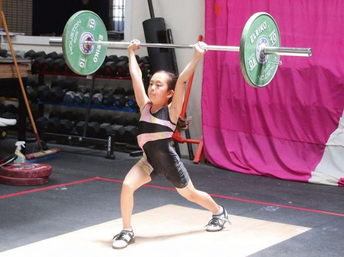 Elle Hatamiya, 11 years old, Weightlifter, inspiring, USA Weightlifting National Youth Champion, Exercise, Gym, Martial Arts, Gymnastics, elle.hot.tamale