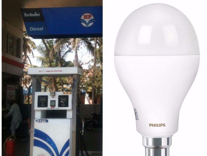 EESL, MoU, agreement, LED appliances, petrol pumps, energy-efficient, clean, energy, efficient, green