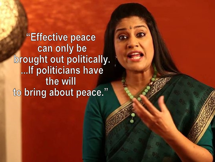 renuka shahane, facebook, india, pakistan, peace, donald trump