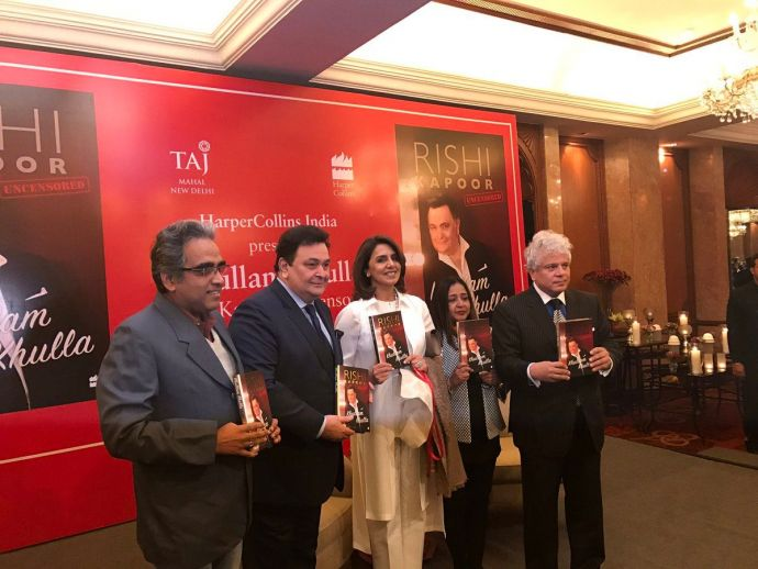 Khullam Khulla, Rishi Kapoor, Amitabh Bachchan, Biography, bollywood, book, launch