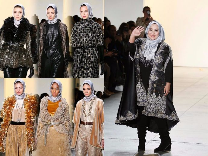 Anniesa Hasibuan, Muslim Designer Hijab, Trump's Anti-Immigrants, trump, usa, muslims, New York Fashion Week, US President Donald Trump