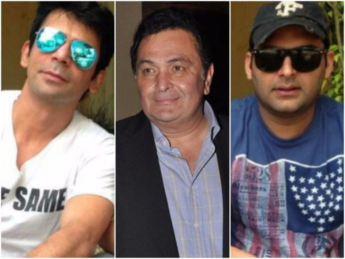 Kapil Sharma, Sunil Grover, Rishi Kapoor, patch up, come back, entertainment, twitter, bollywood, the kapil sharma show, comedy, Sunil Grover Reply to Rishi Kapoor