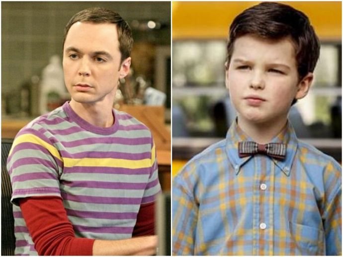 The big bang theory, young sheldon, sheldon cooper, leonard, penny, Kaley Cuoco, Raj, Howard, Amy Farrah Fowler, CBS, US