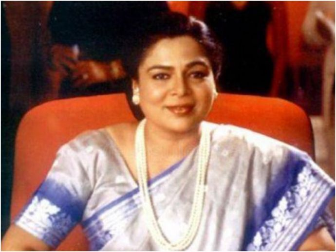 reema lagoo, death, cardiac arrest, hum saath saath hai, tu tu mai mai, veteran actress
