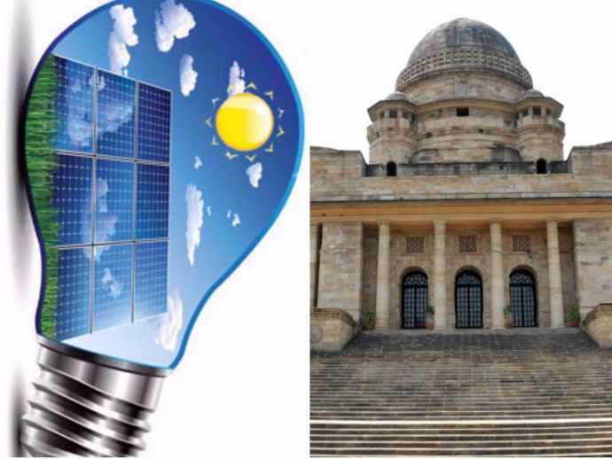 Nagpur High court, Solar Energy, panels, high court, judiciary, nagpur, renewable, first