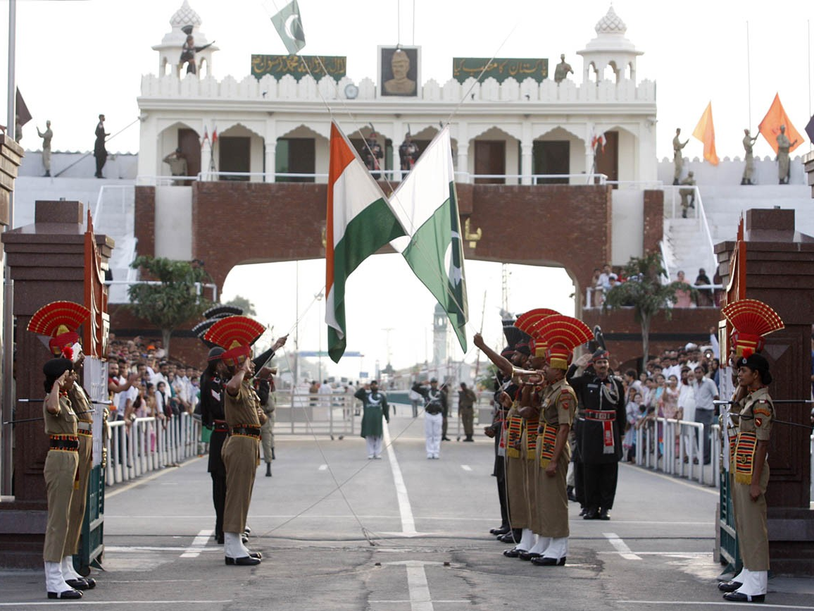 Flag Retreat At Wagah, Flag Retreat Ceremony, Wagah Border