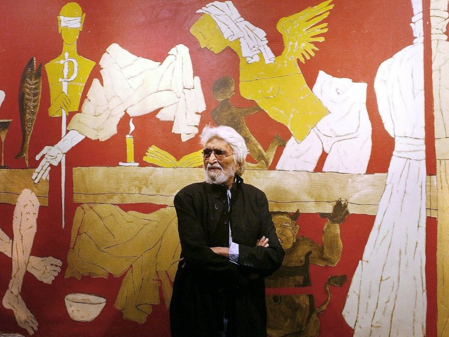 M F Husain, The Picasso Of India, Maqbool Fida Husain, Indian Painter, Photographer, Printmaker, Filmmaker