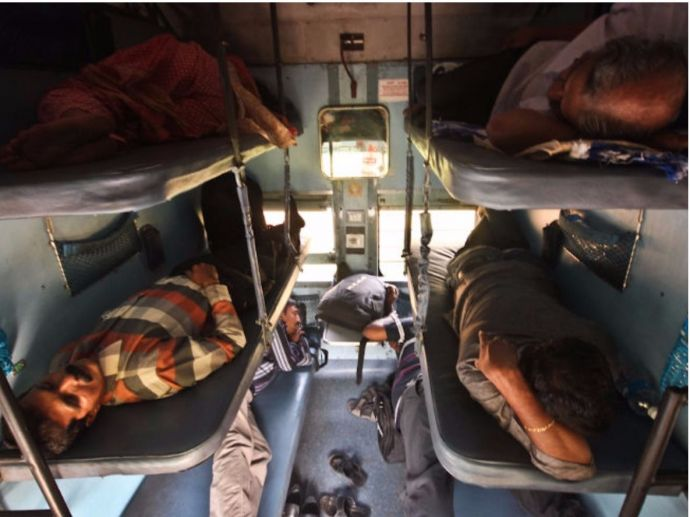 Indian Railways, Nap time cut down, berth fights, 10pm-6am