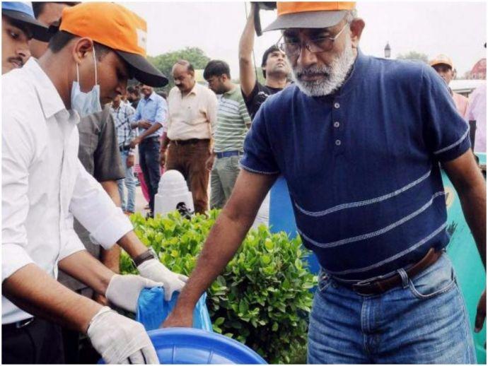 Swachh Bharat Abhiyan, Swachhta hi seva, delhi, india gate, cleanliness drive