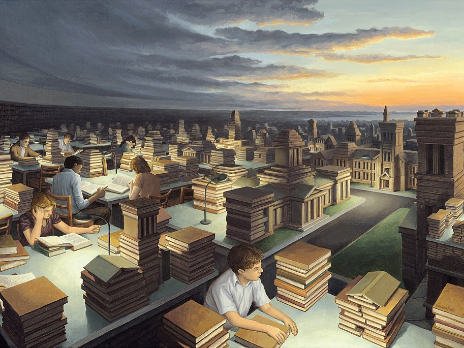 Painting, Magical, Rob Gonsalves, Surrealist, Magic Painter, Surrealist painter
