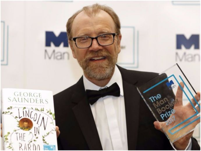 Man Booker Prize 2017, George Saunders, Lincoln In The Bardo, American author