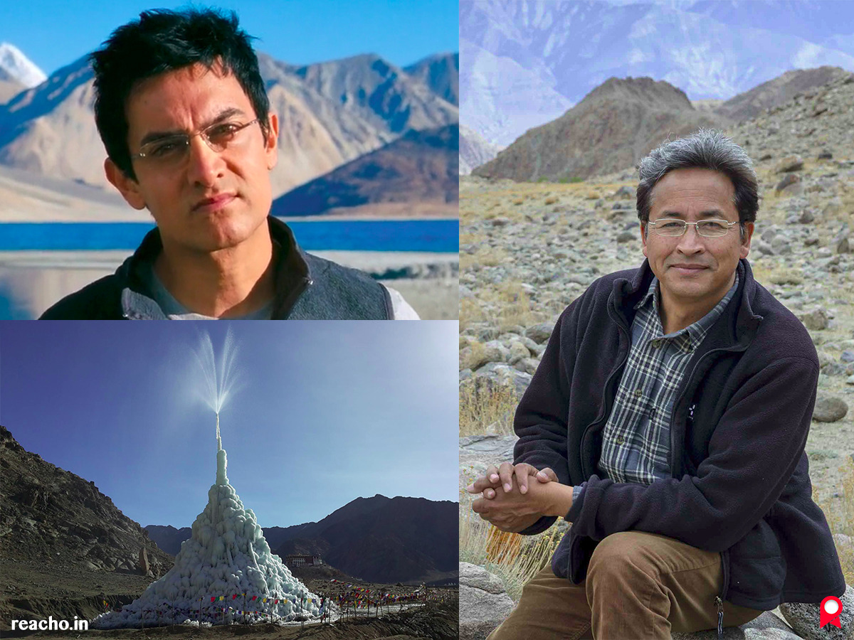 Sonam Wangchuk, Leh engineer, artificial glaciers, 'Ice Stupas', Rolex Awards for Enterprises 2016, The Students' Educational And Cultural Movement In Ladakh (SECML)
