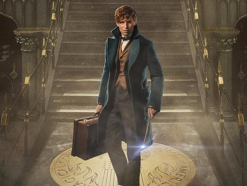 J.K. Rowling, Harry Potter, Fantastic beasts And Where To Find Them, Eddie Redmayne, Collin farrel