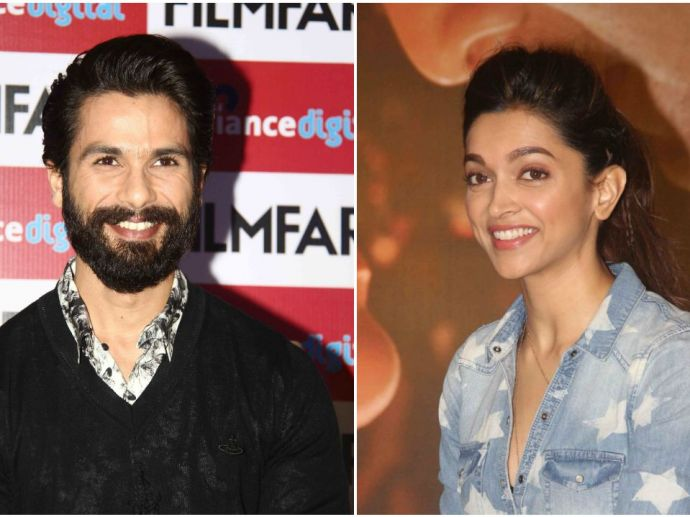 Shahid Kapoor, Deepika PAdukone, Padmavati, Ranveer Singh, Sanjay Leela Bhansali, Instagram, Filmfare Awards