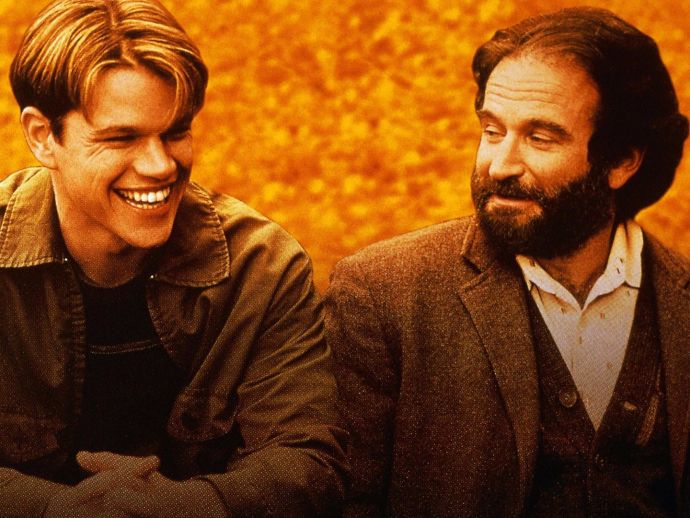 good will hunting, matt damon, ben affleck, robin williams, attachment disorder, psychology, defence mechanism, inferiority complex, Will hunting, Dr Sean Maguire, Robin Williams In good will hunting, Damon And Affleck, Facts About Good Will Hunting
