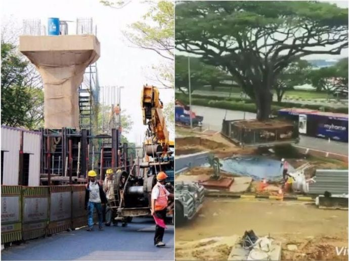 Nagpur Metro, Nagpur, Video, Hoax, Tree Transplant, viral
