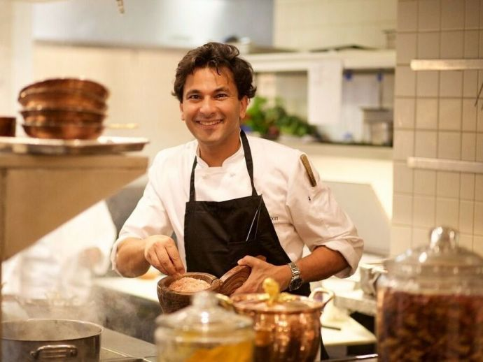 Vikas Khanna, Buries Seeds, Junoon, Michelin Star, andrei severny, cannes film festival