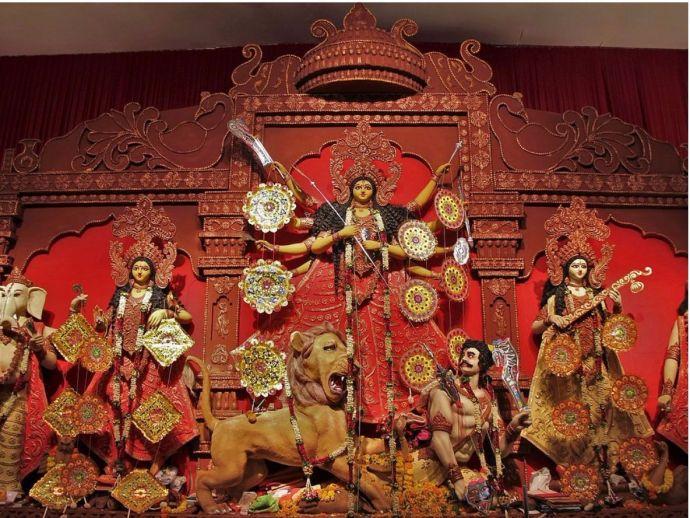 Nagpur, Navratri, Durga Pujo, Festivals, Bengali Traditions
