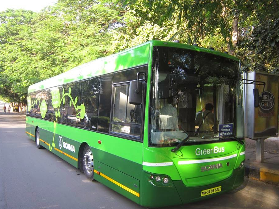 Nagpur, Green Bus, Bus, Green Nagpur, Green Buses, Scania, Starbus, Nagpur Municipal Corporation, NMC