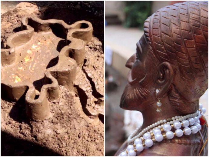 Diwali, Killa Making, Shivaji, Nagpur, Pune, Mud forts, Tradition