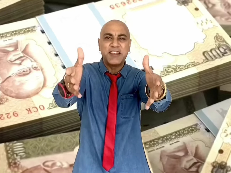 Baba Sehgal, Black Money, Demonetization, Rapper, composition