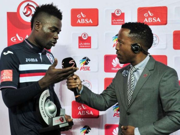 Football, soccer, Mohammed Anas, Ghana, South Africa, Cape Town, Africa, South African Premier Division, Twitter, Free State Stars, man of the match