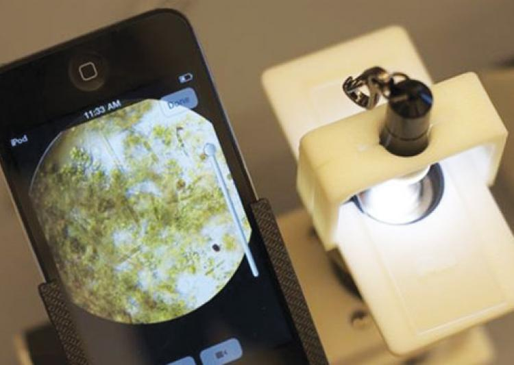 Samrat Singh, A student of IIT Bombay, Dr Deepa Bhartiya, A Portable Microscope, New Technology, New Medical Technology