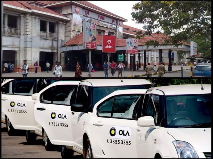 Pune Railway Station, Ola Cabs, Ola, Auto Drivers, Pune Ola Cabs, transport, travel, cab