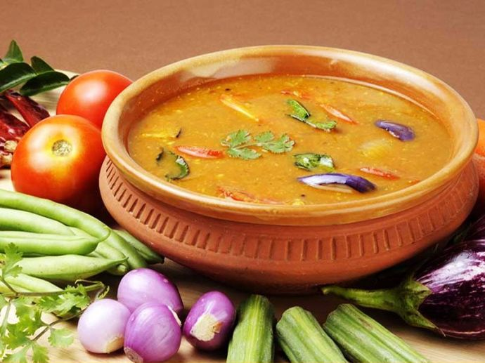 sambar, broth, lentil, stew, soup, south indian, food, cuisine, cancer, manipal, university, pharmacy, study, research, idli, vada, rice, medicinal, advantage, benefit, health, colon, dimethyl hydrazine, DMH