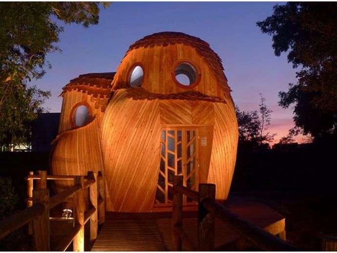 owl, cabin, travel, structure, goals, plywood